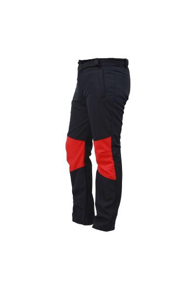 Softshell Lacivert Kırmızı Pantolon