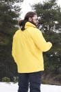 Floyen Polarlı Sarı Yağmurluk