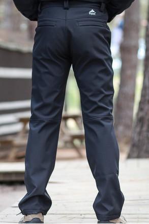 Seword Siyah Softshell Pantolon